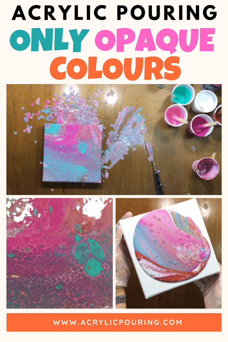 Acrylic Pouring Only Opaque Colours