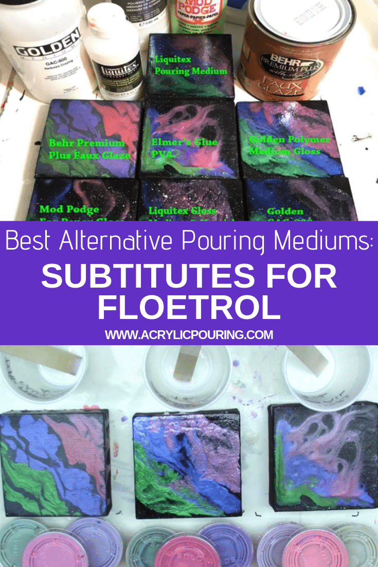 Best Alternative Pouring Mediums: Subtitutes for Floetrol