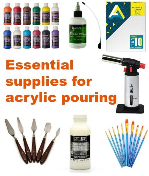 Supplies You Need To Get Started With Acrylic Pouring Beginner