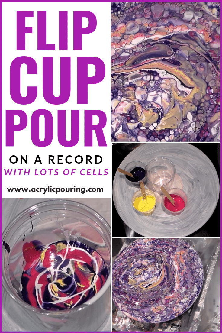 Flip Cup Pour On a Record With Lots of Cells (Too Many?)
