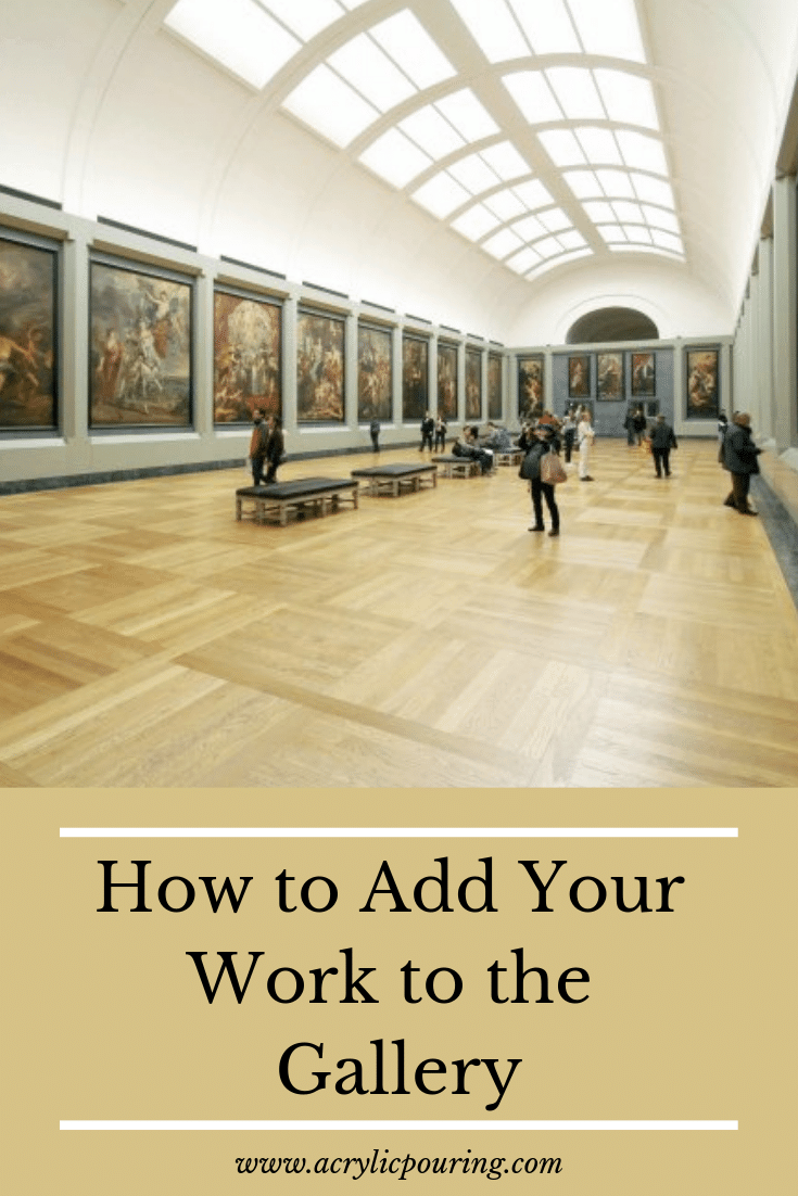 How to Add Your Work to the Gallery