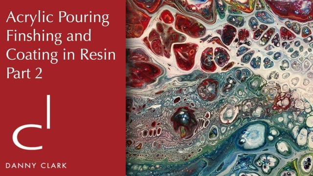 How To Finish An Acrylic Pour Painting With Resin