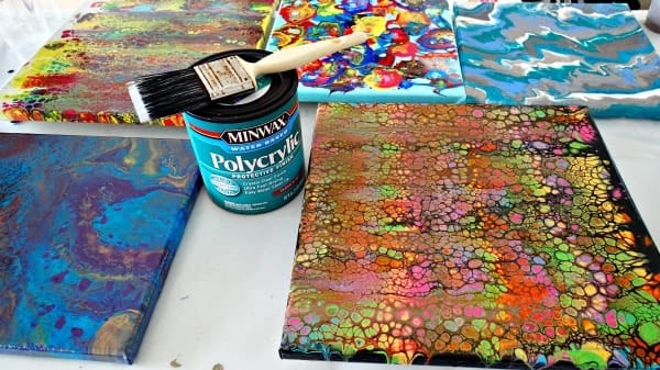 Best Protective Finish To Seal Acrylic Paintings And How To