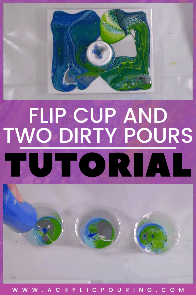 Flip Cup and Two Dirty Pours