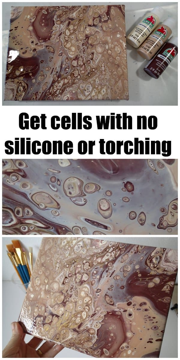 How to get cells with no silicone or torching. This recipe creates awesome flip cup cells easily. Video tutorial.