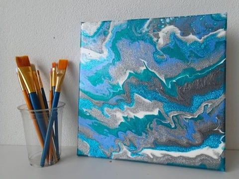 Artist Who Use Powder Paint