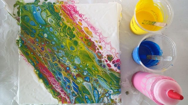 Painting With Opposite Colors