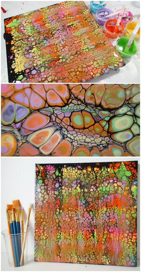 Black Acrylic Swipe With Brights Sample Pack