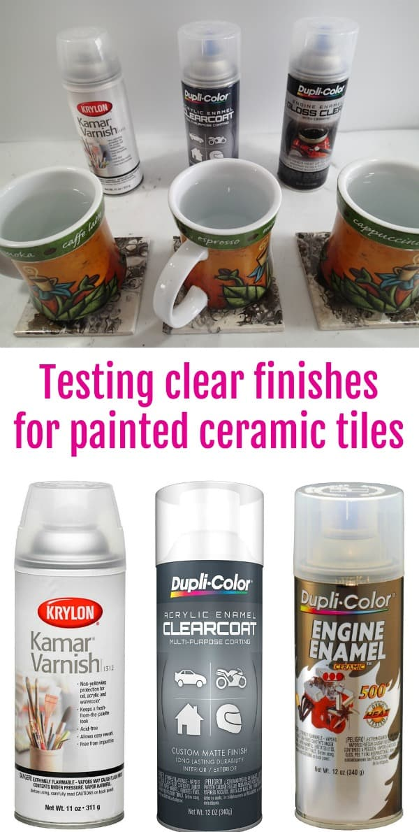 Video Comparison And Test Of Various Clear Spray Finishes To Use Over The Top Acrylic