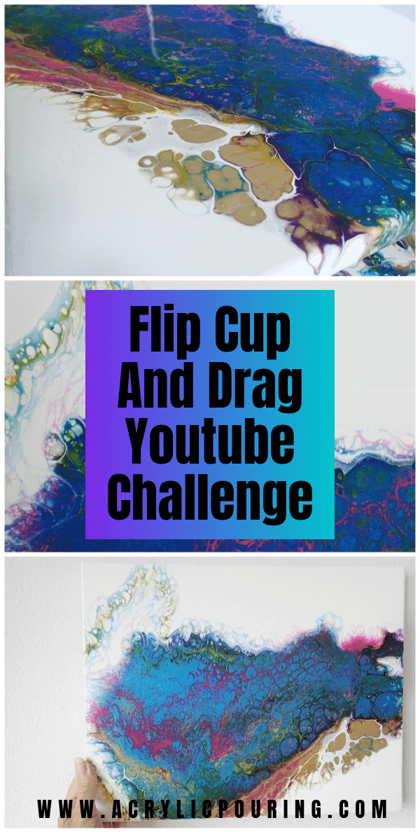 Flip Cup and Drag Youtube Challenge