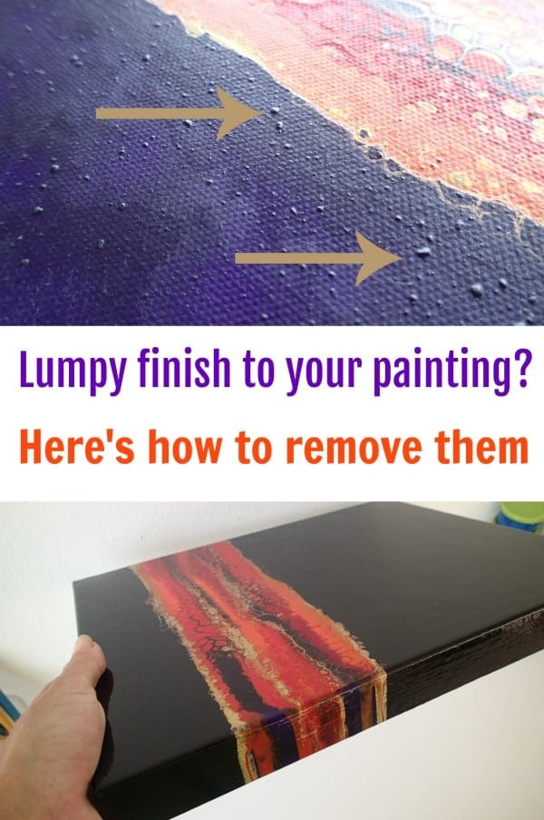 How to Fix Lumpy Acrylic Paint | AcrylicPouring com