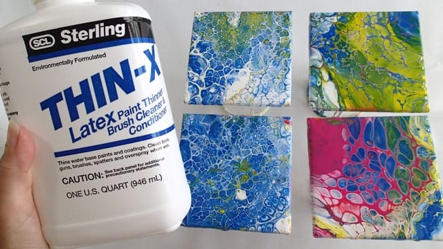 Testing Thin X As An Alternative To Floetrol Acrylic Pouring