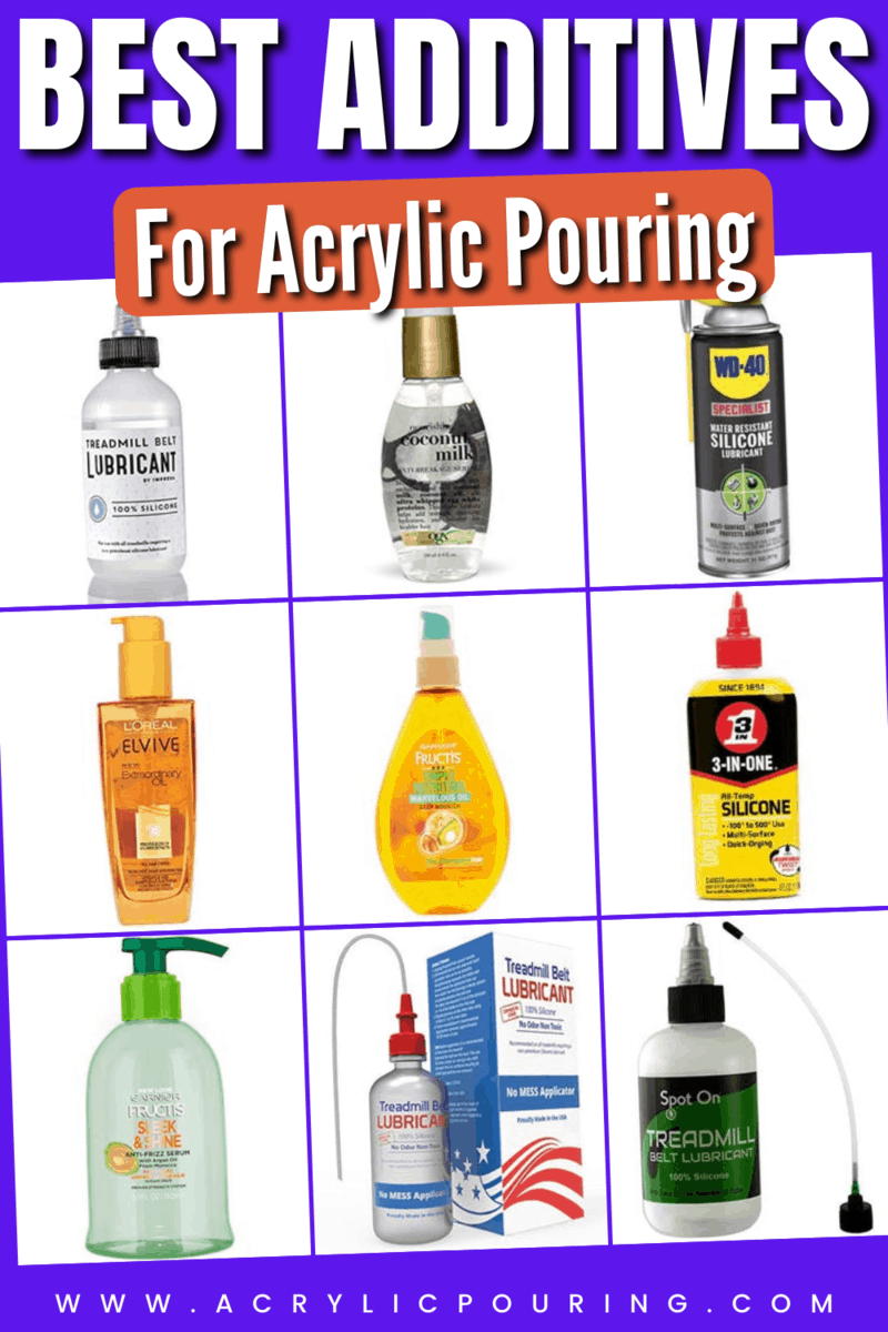 Best Additives for Acrylic Pouring (With Test Video)