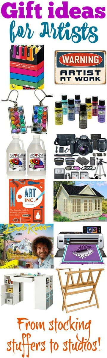 Best Gifts For Artists Stocking Stuffers To Studios