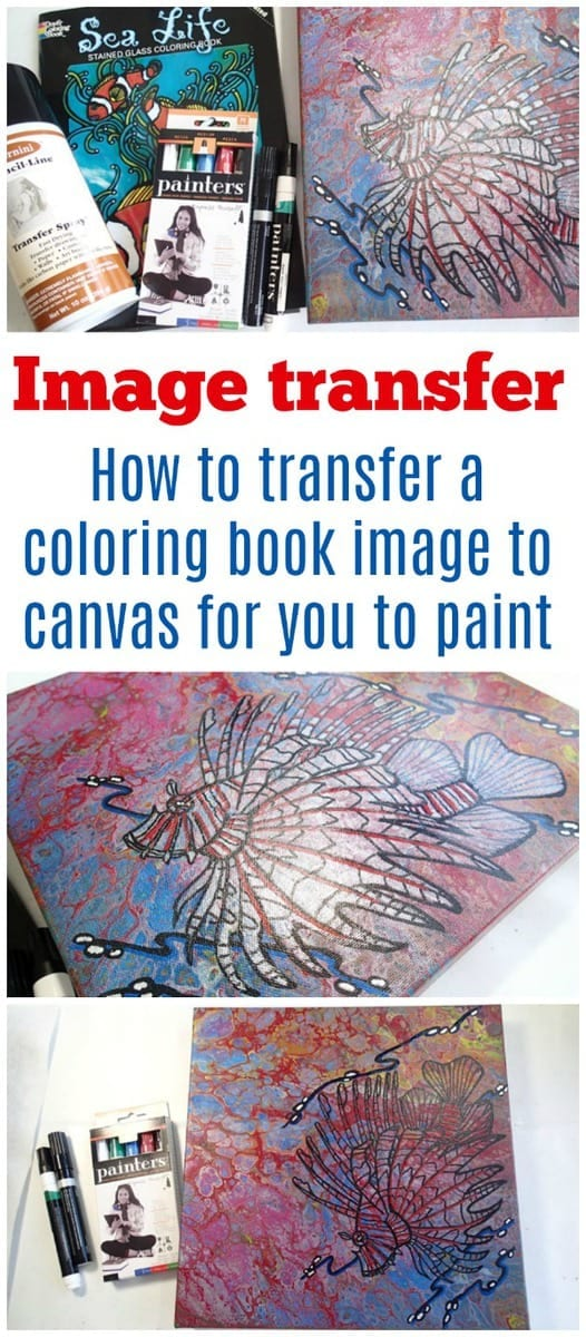 How To Transfer A Drawing To Your Canvas Acrylicpouringcom