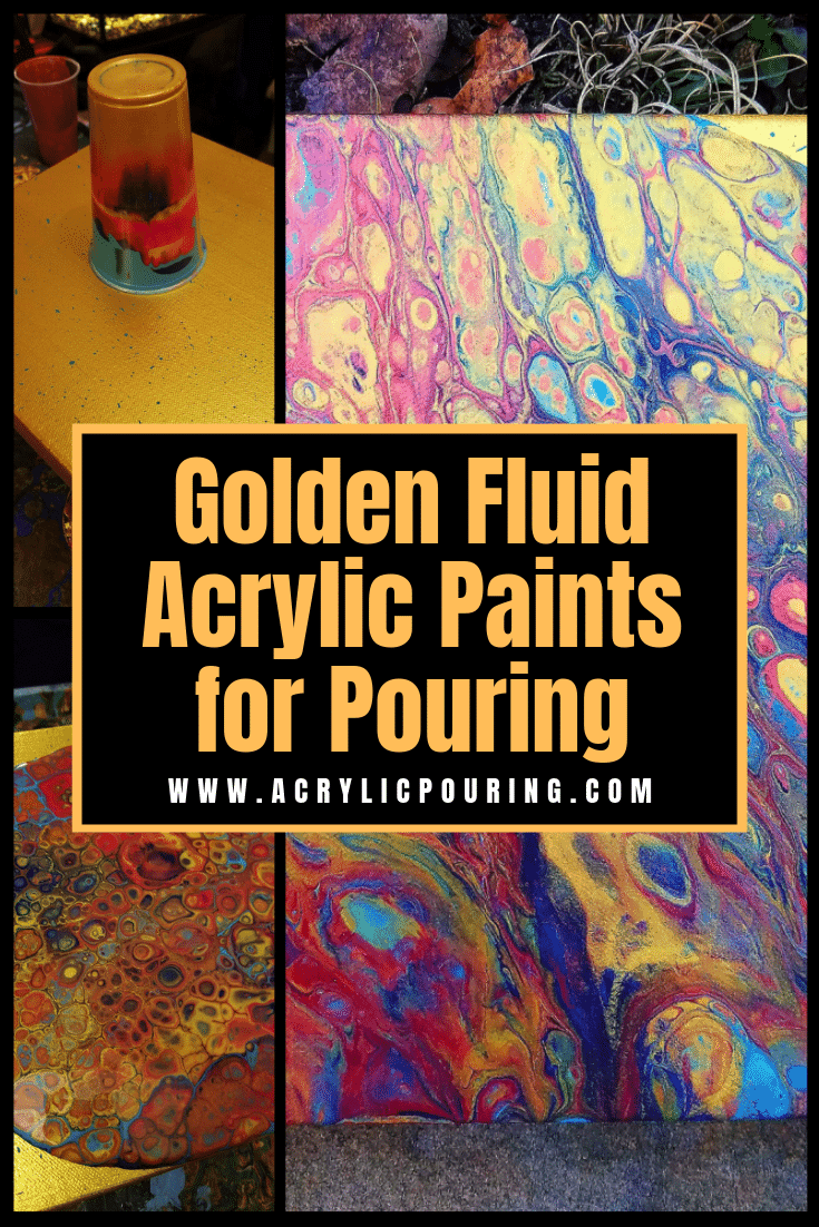 Golden Fluid Acrylic Paints for Pouring: Review and Test
