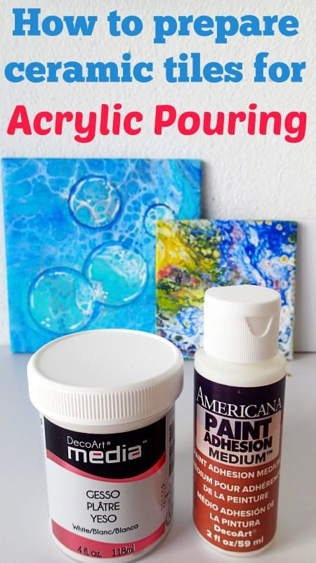 How To Prepare Tiles For Acrylic Pouring Product Review Do You Need Gesso Or