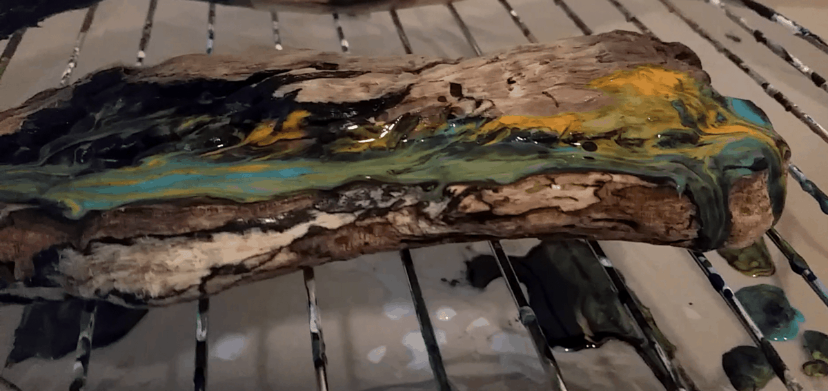 Driftwood Pour