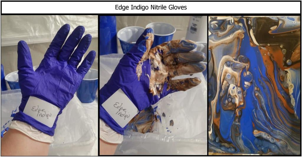 Edge Indigo Nitrile Gloves