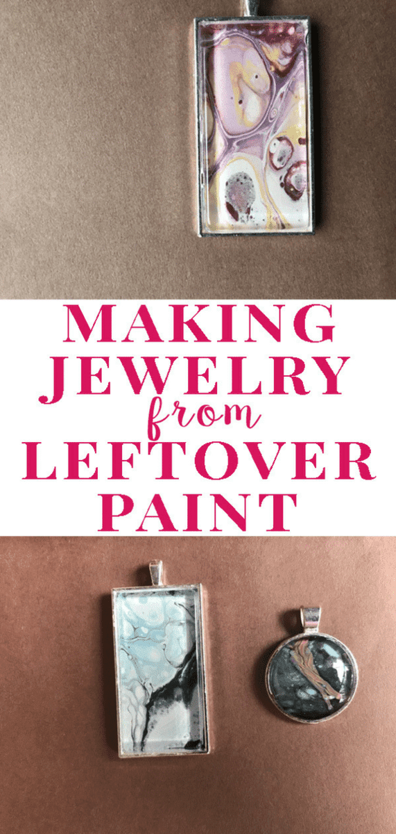How to Turn Leftover Paint Into Gorgeous Jewelry