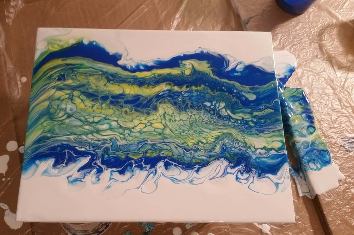 Getting Started With The Acrylic Pour Swipe