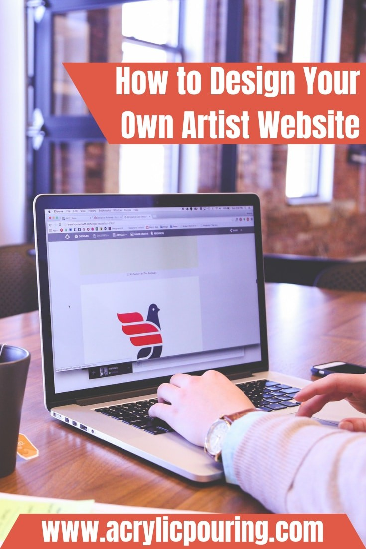 How to Design Your Own Artist Website