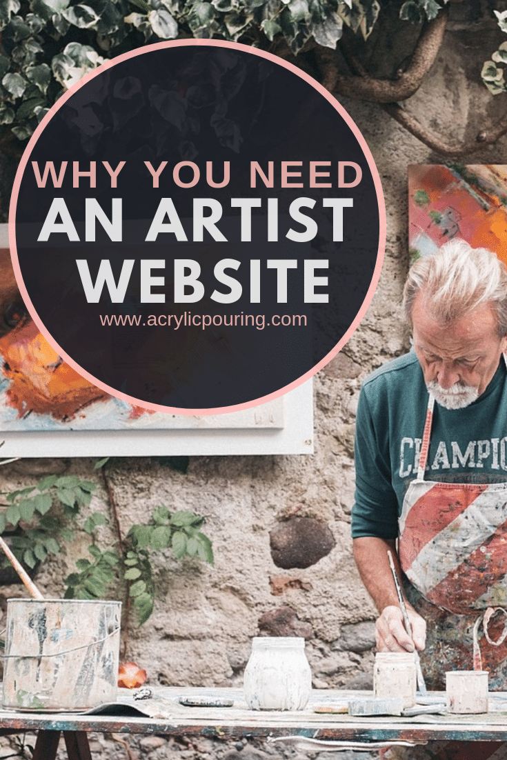 Why You Need An Artist Website