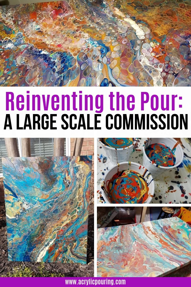 Reinventing the Pour: A Large Scale Commission