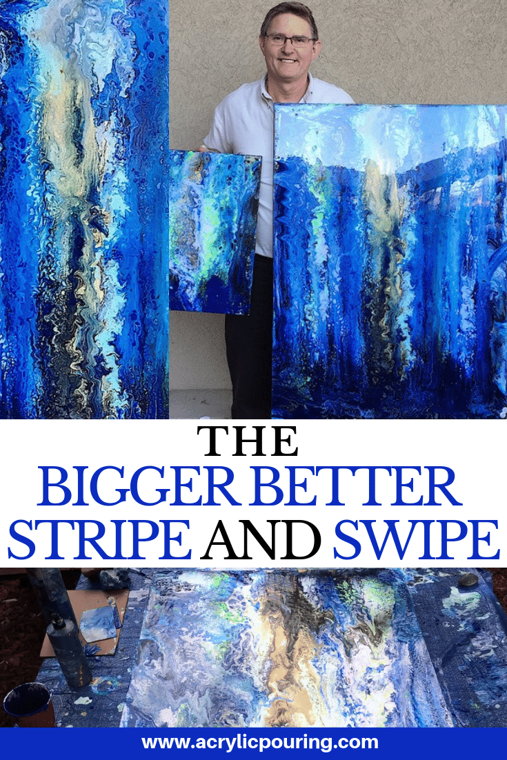 A Giant Stripe and Swipe: The Main Event