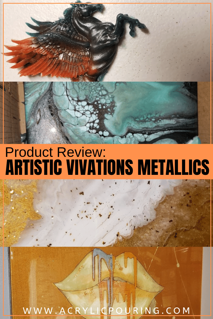 Product Review: ARTiSTiC ViVATiONS Metallics