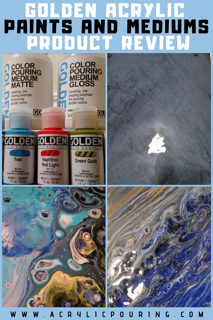 Product Review: Golden Acrylic Paints and Mediums