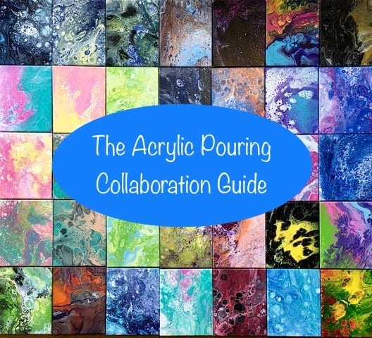 acrylic pouring collaborations