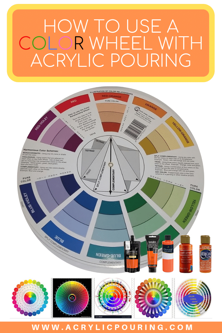 How to use a Color Wheel with Acrylic Pouring