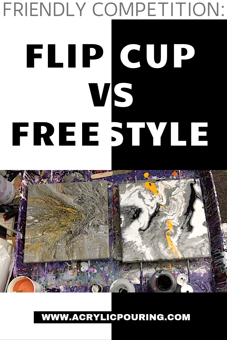 Friendly Competition: Flip Cup vs. Freestyle