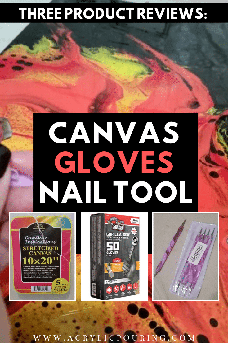 Three Product Reviews: Creative Inspirations Canvas, Grease Monkey Gloves, Nail Tool