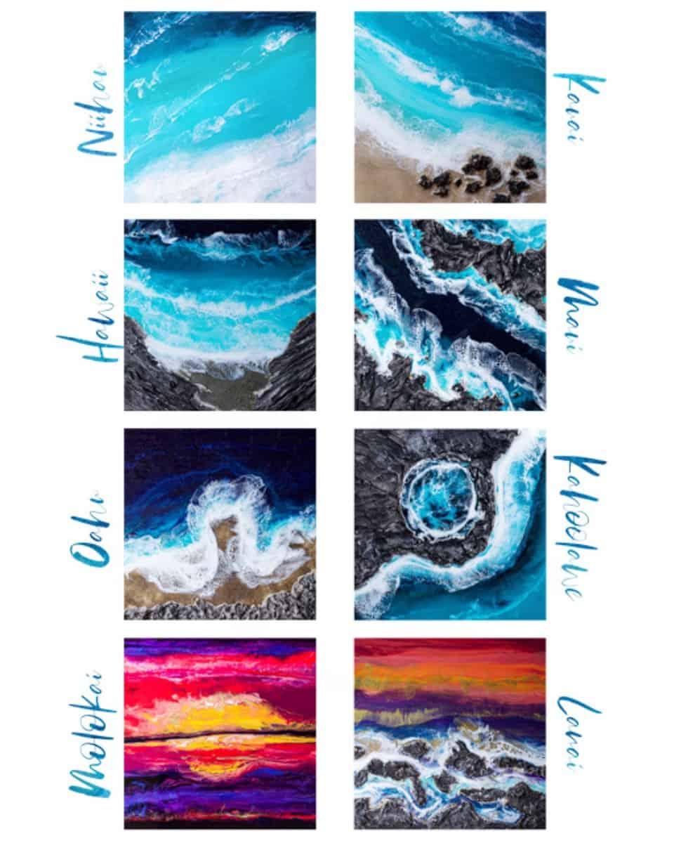 Ann Upton Hawaii inspired series