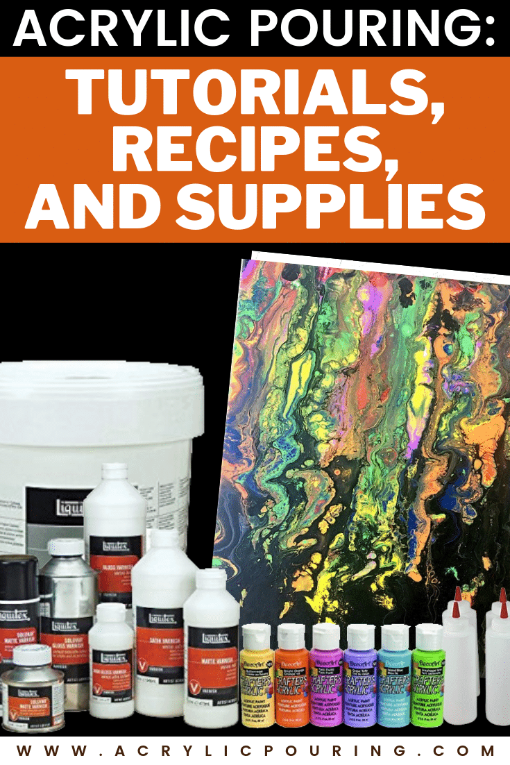 Get to know more about fluid art and other supplies in acrylic pouring. #acrylicpouring #acrylicpaint #fluidart #acrylicsupplies #fluidpainting #fluidartforbeginners #tips #acrylicrecipes #acrylics