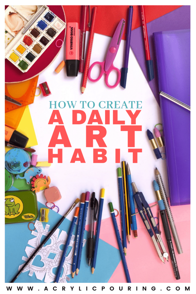 Creating a daily art habit
