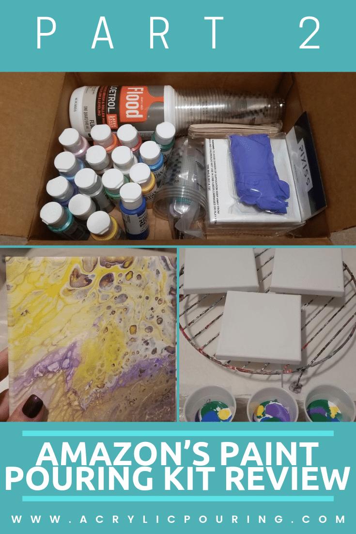 Testing Amazon's Acrylic Pouring Kit