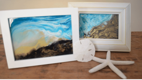 alcohol ink on glass, alcohol ink pictures, alcohol ink picture frames