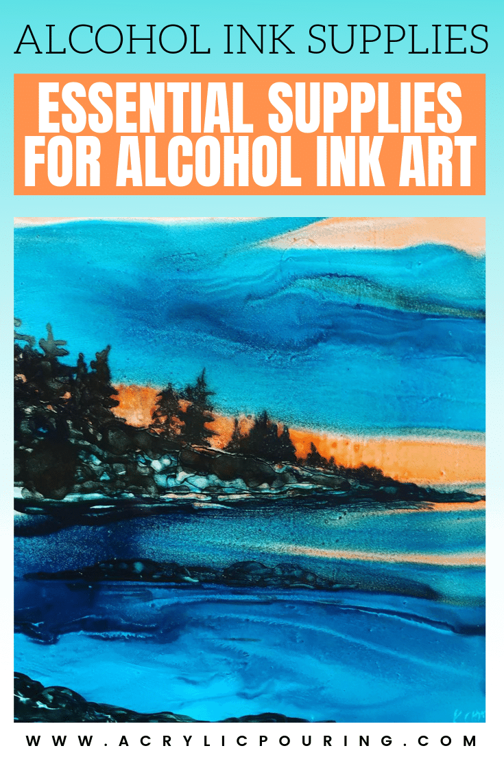 Alcohol Ink Supplies – Essential Materials for Alcohol Ink Art