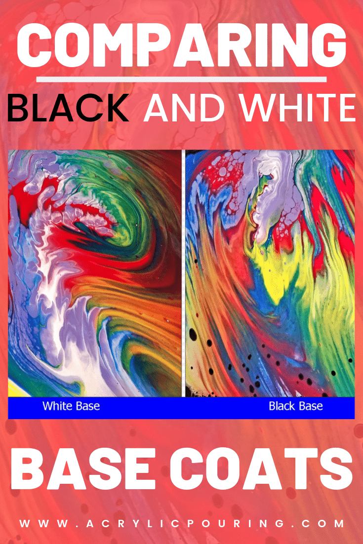 Comparing Black and White Base Coats