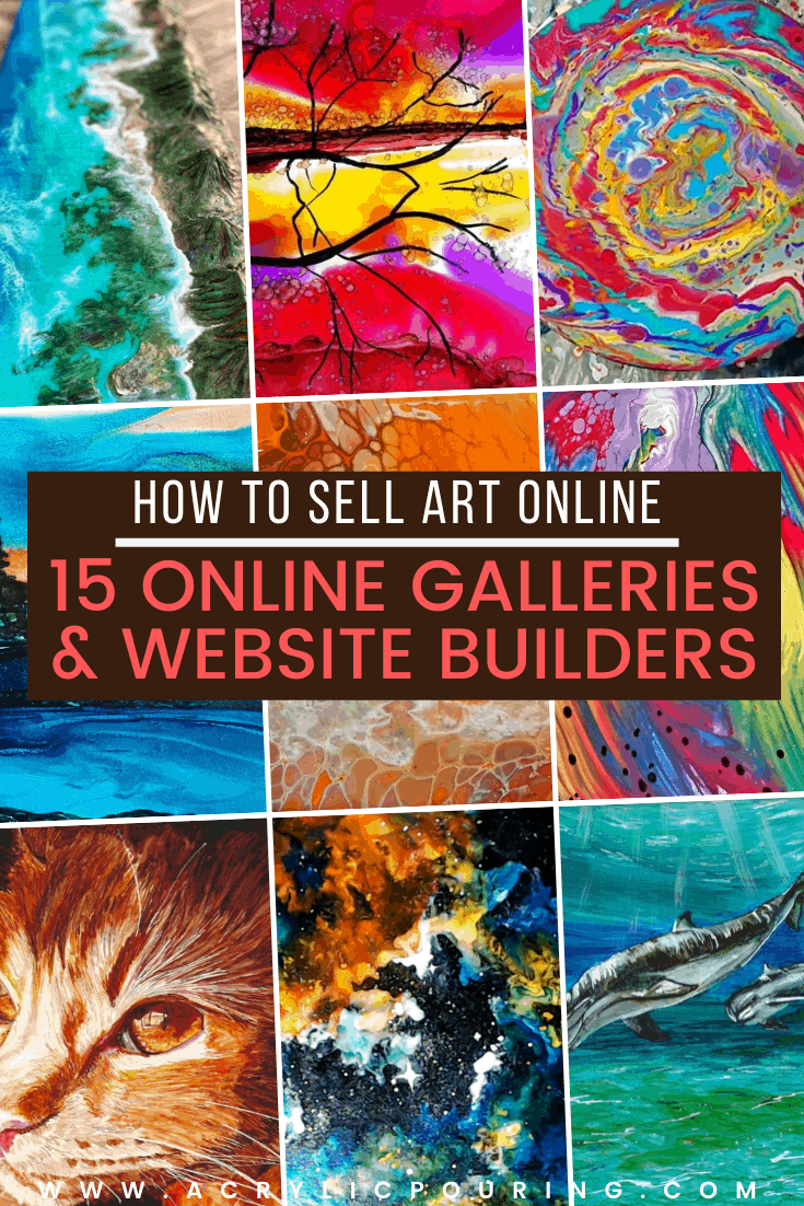 How to Sell Art Online: 15 Online Galleries and Website Builders