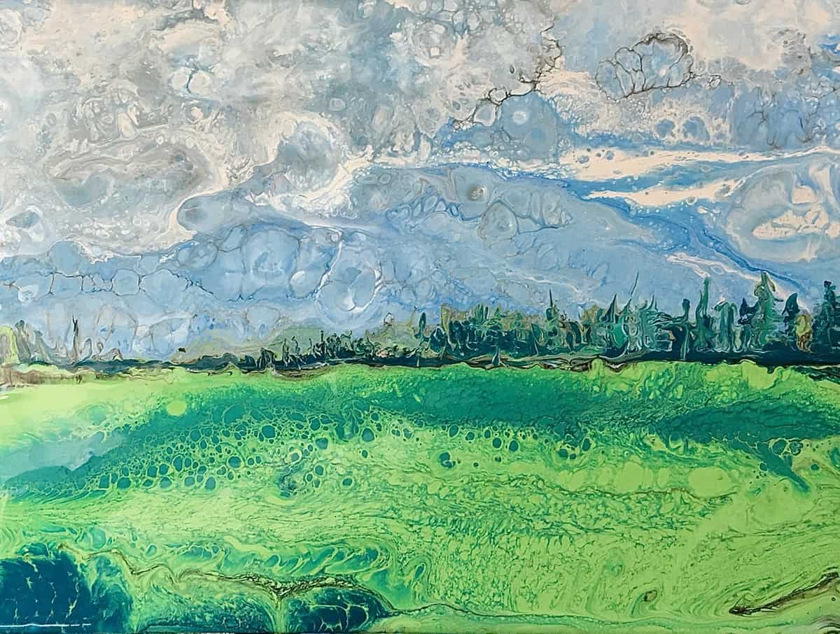 Poured Landscape Finding Success After Trial And Error