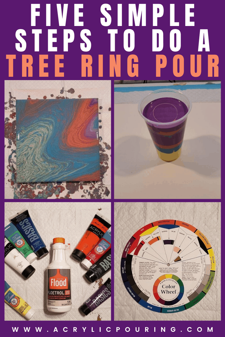 Five Simple Steps to do a Tree Ring Pour