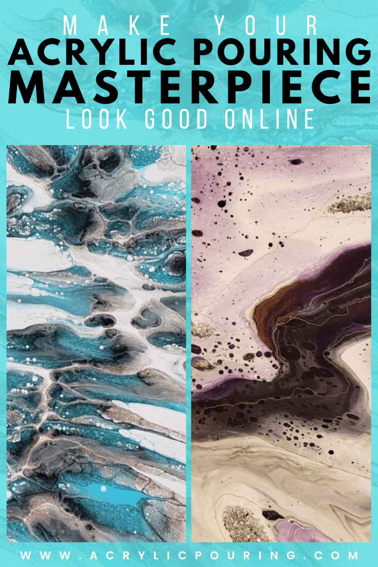 Four Tips for Photographing Your Fluid Art to Attract Buyers