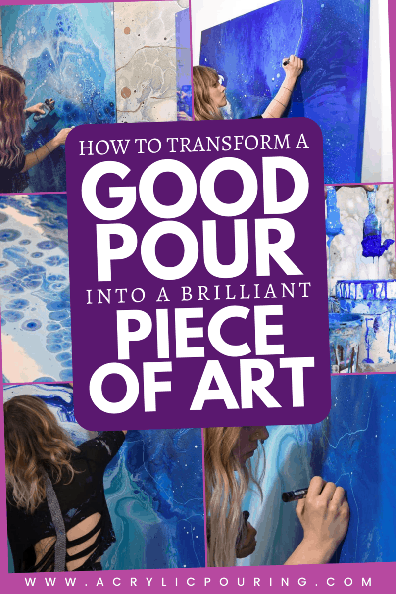 3 Ways to Transform a Good Pour into a Brilliant Piece of Art