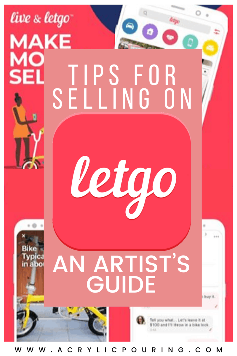 In the world of art, there are different ways to earn money as an artist, like selling your artworks or acrylic pour painting. Hence, today, we will share with you the best tips for selling on LetGo, as well as provide you an overview of LetGo. #acrylicpouring #artbusiness #fluidartbusiness