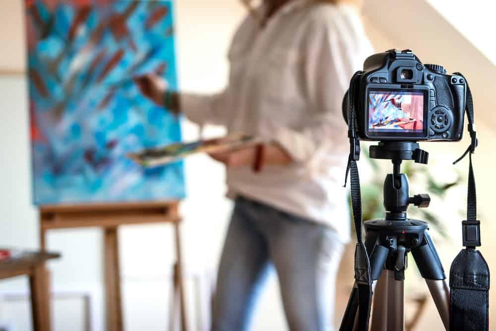 how to upload digital art to instagram