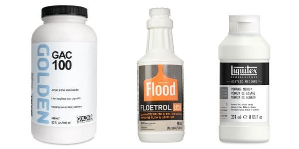 Acrylic Pouring Ratio Guide Floetrol Liquitex And More